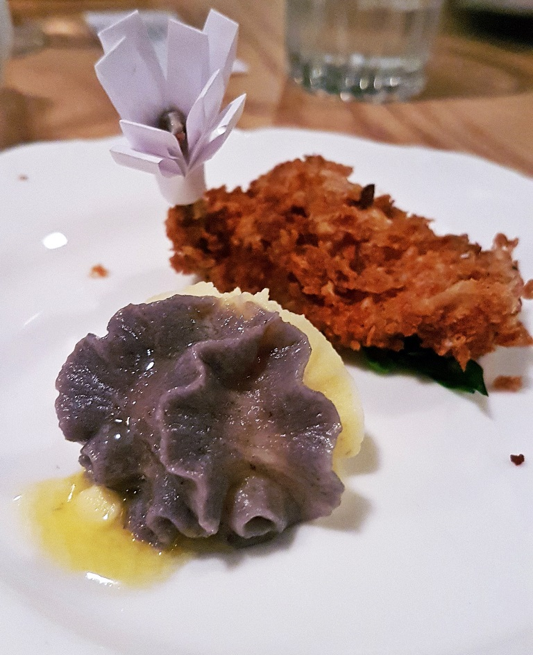 Quail kiev and burgundy mash at Mr Nobody, Leeds - Restaurant Review by BeckyBecky Blogs