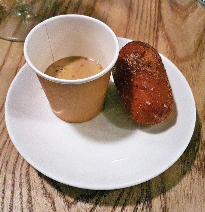 Desi tea and doughnut at Mr Nobody, Leeds - Restaurant Review by BeckyBecky Blogs