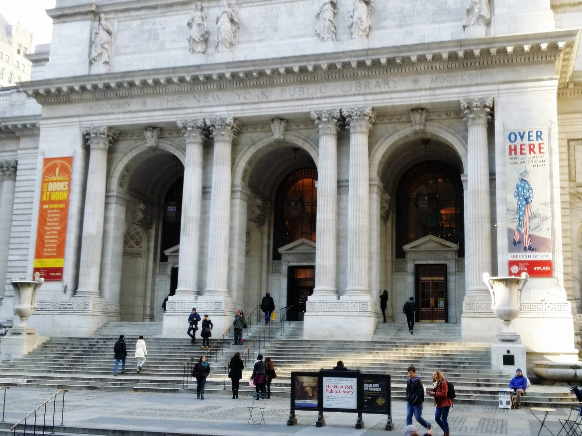 New York City Public Library - New York New York, travel blog by BeckyBecky Blogs