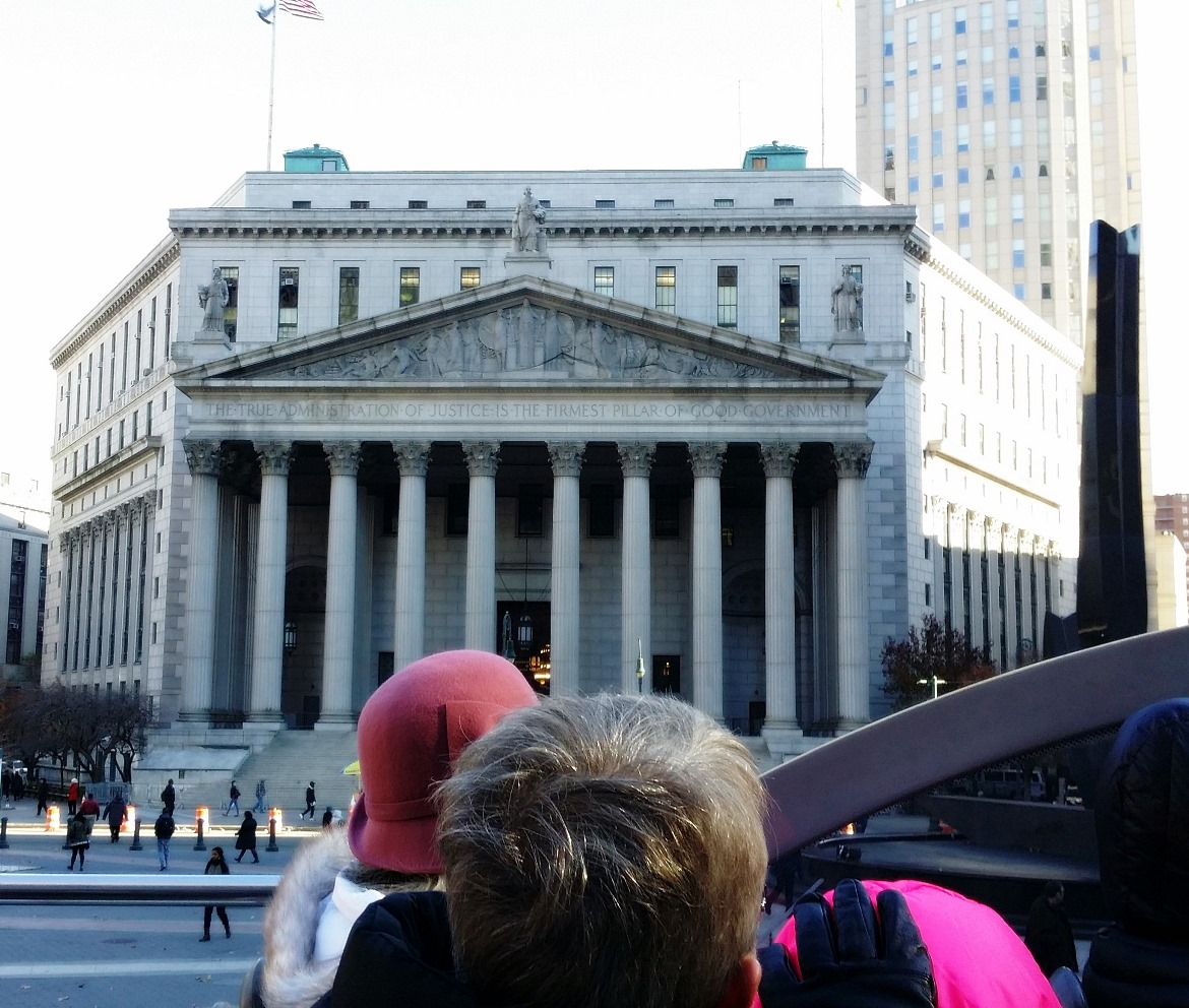 The Supreme Court - New York New York, travel blog by BeckyBecky Blogs