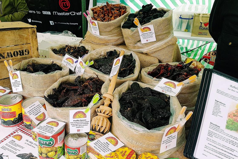 The North Leeds Food Festival chillis