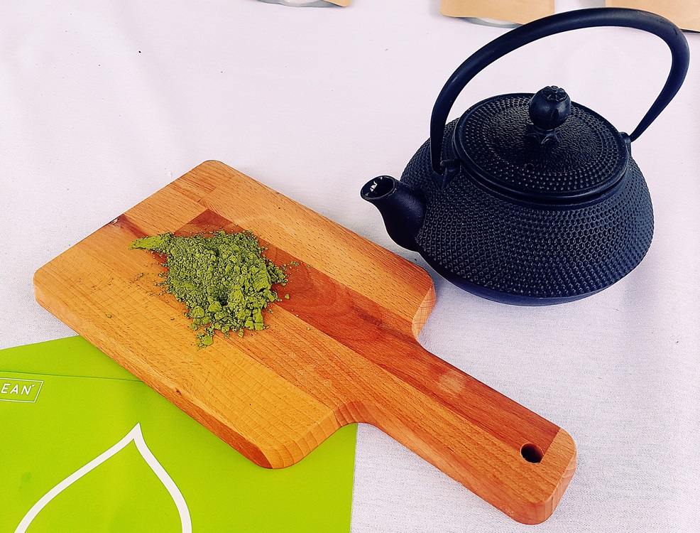 Matcha Tea at North Leeds Food Festival