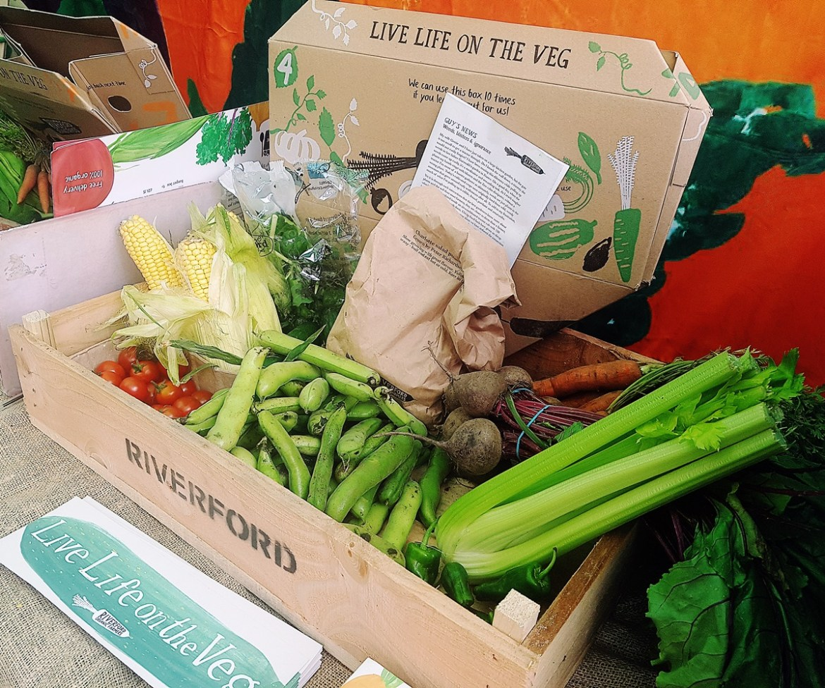 The North Leeds Food Festival veg box