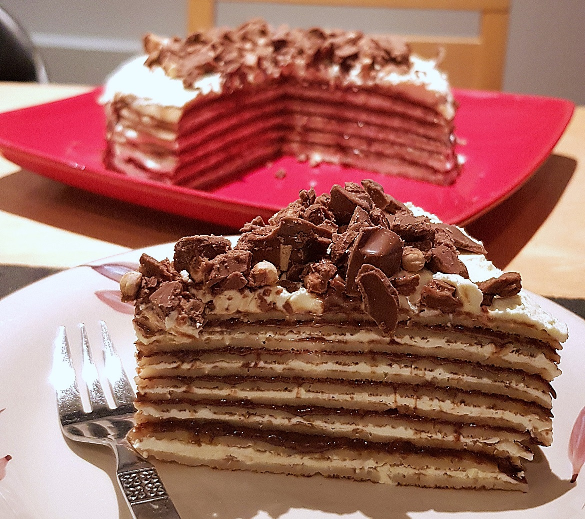 Crepe cake - November Monthly Recap by BeckyBecky Blogs