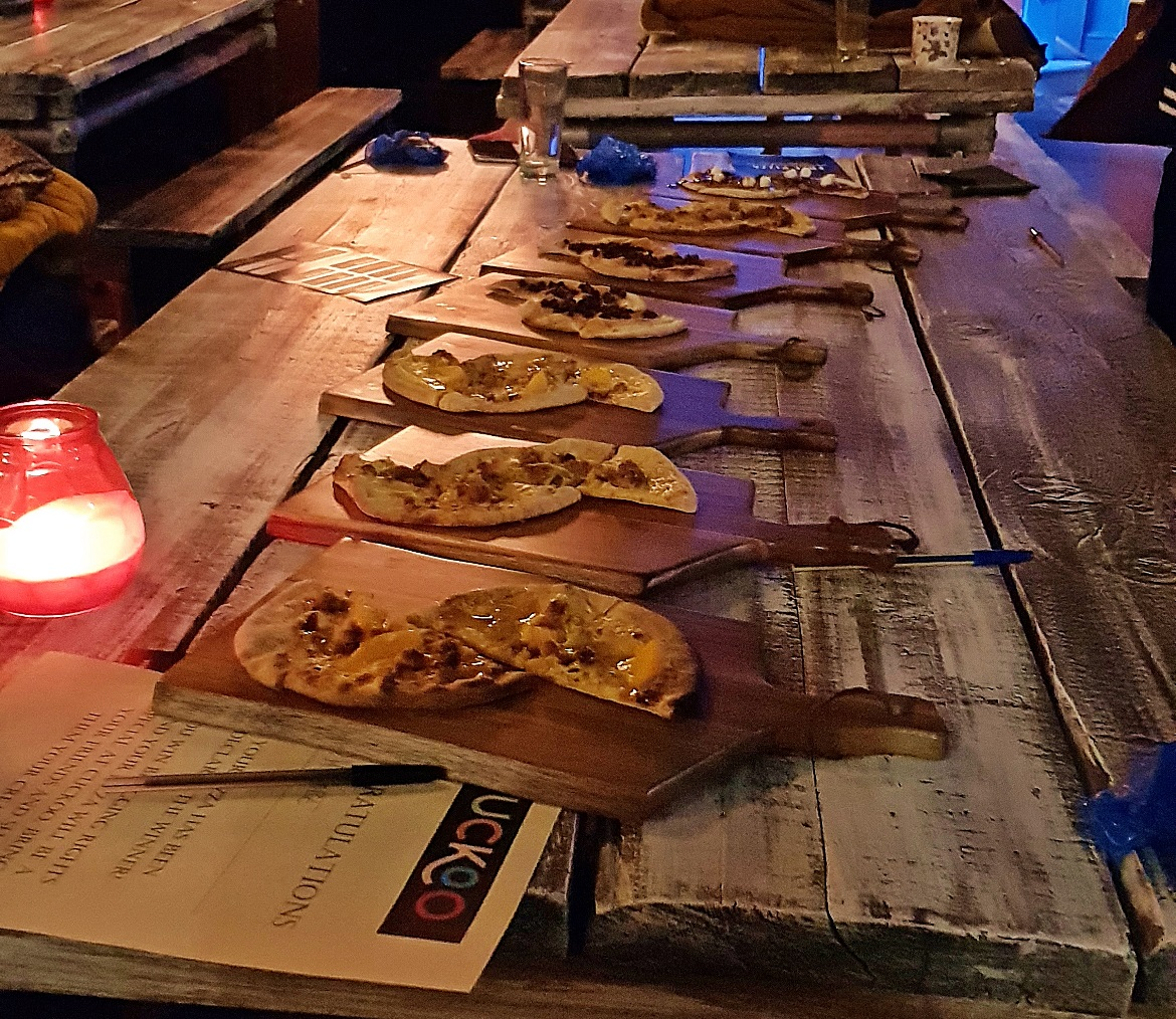 Dessert Pizzas - Cuckoo, the newest cocktail and pizza bar on Call Lane in Leeds - Bar Review by BeckyBecky Blogs