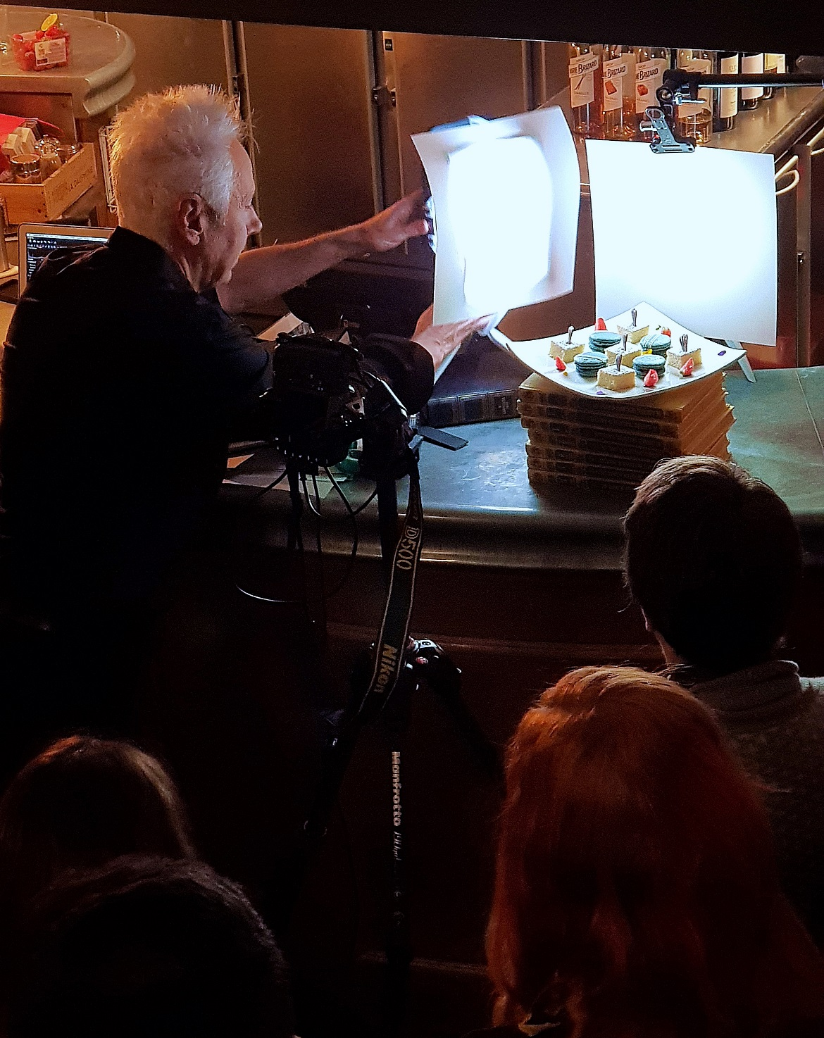 Food photography at Manfrotto Photography Masterclass - November Monthly Recap by BeckyBecky Blogs