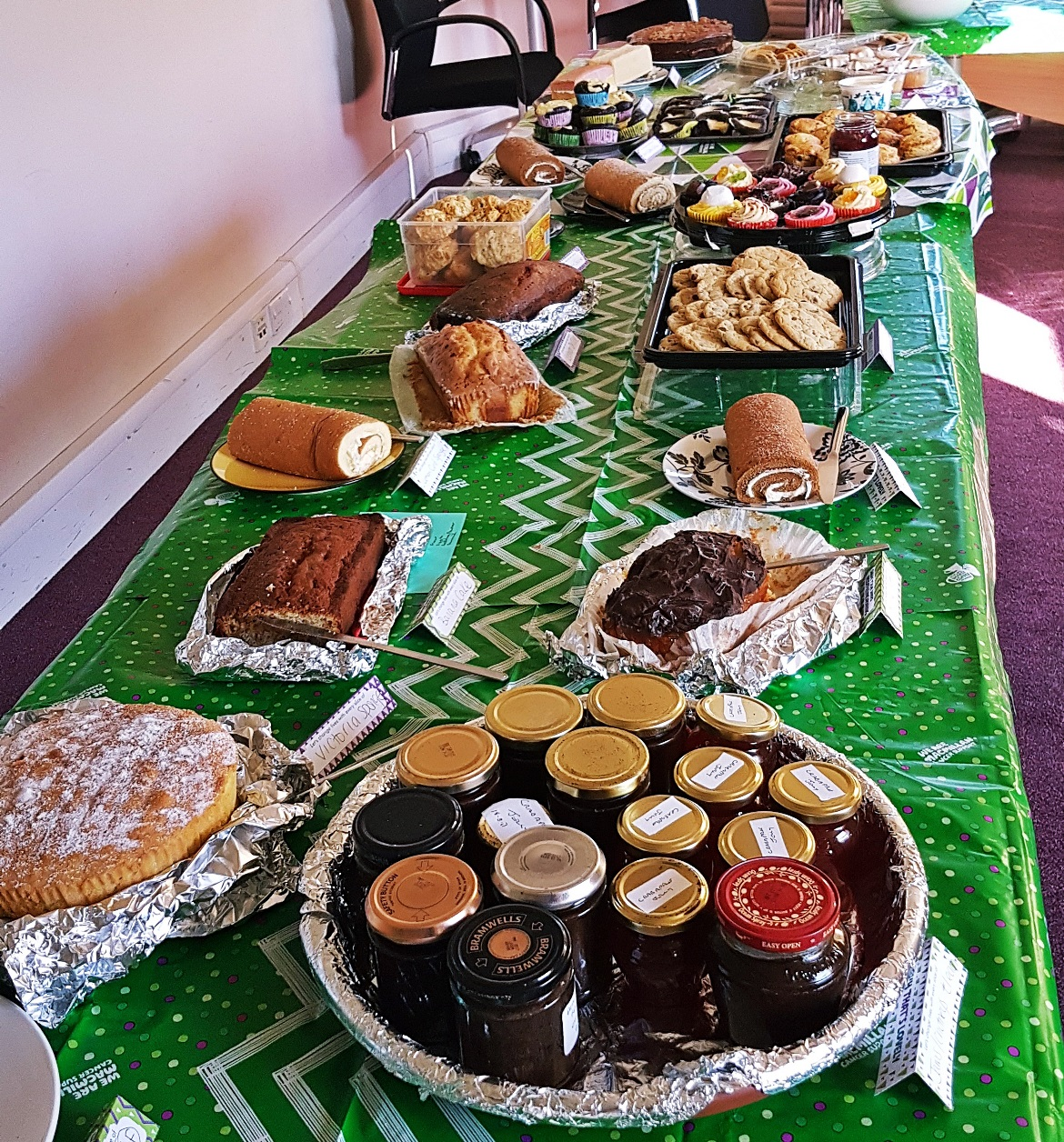 Macmillan Coffee Morning at work - October Monthly Recap by BeckyBecky Blogs