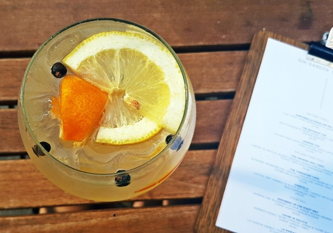 The Orange-inal Copa - Gin & Tonic Plus at Pintura, Bar Review by BeckyBecky Blogs