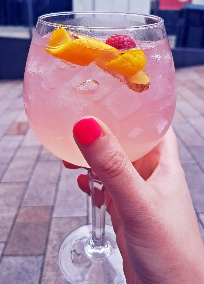The Yorkshire Copa - Gin & Tonic Plus at Pintura, Bar Review by BeckyBecky Blogs