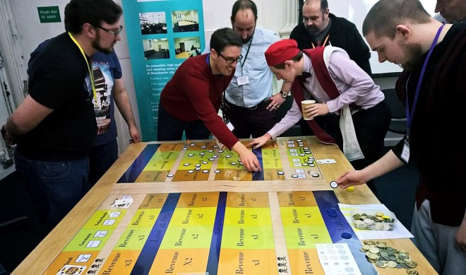 The Trade Game at the Popes, Poison and Perfidy Megagame