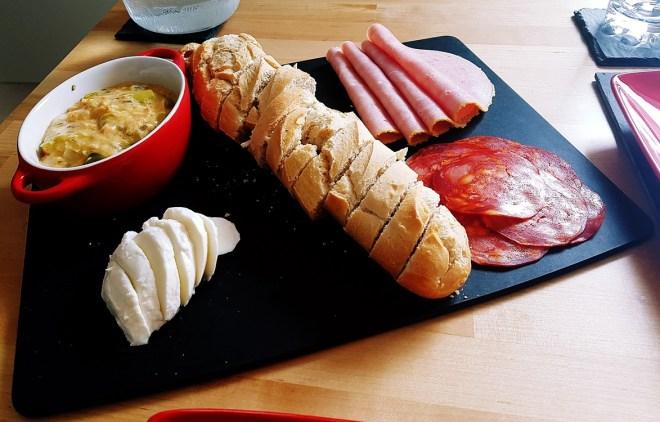 Recipe for cheesy salmon dip