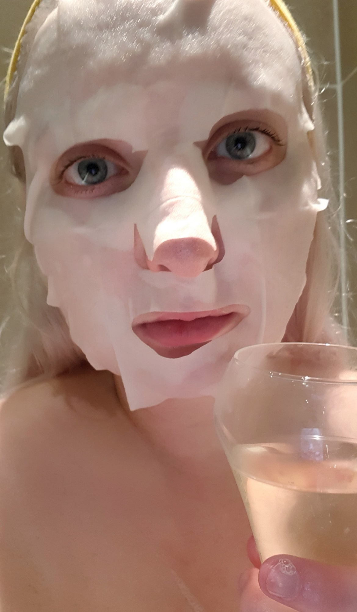 "Face mask - My ""Perfect"" Night In with Sanctuary Bathrooms by BeckyBecky Blogs"