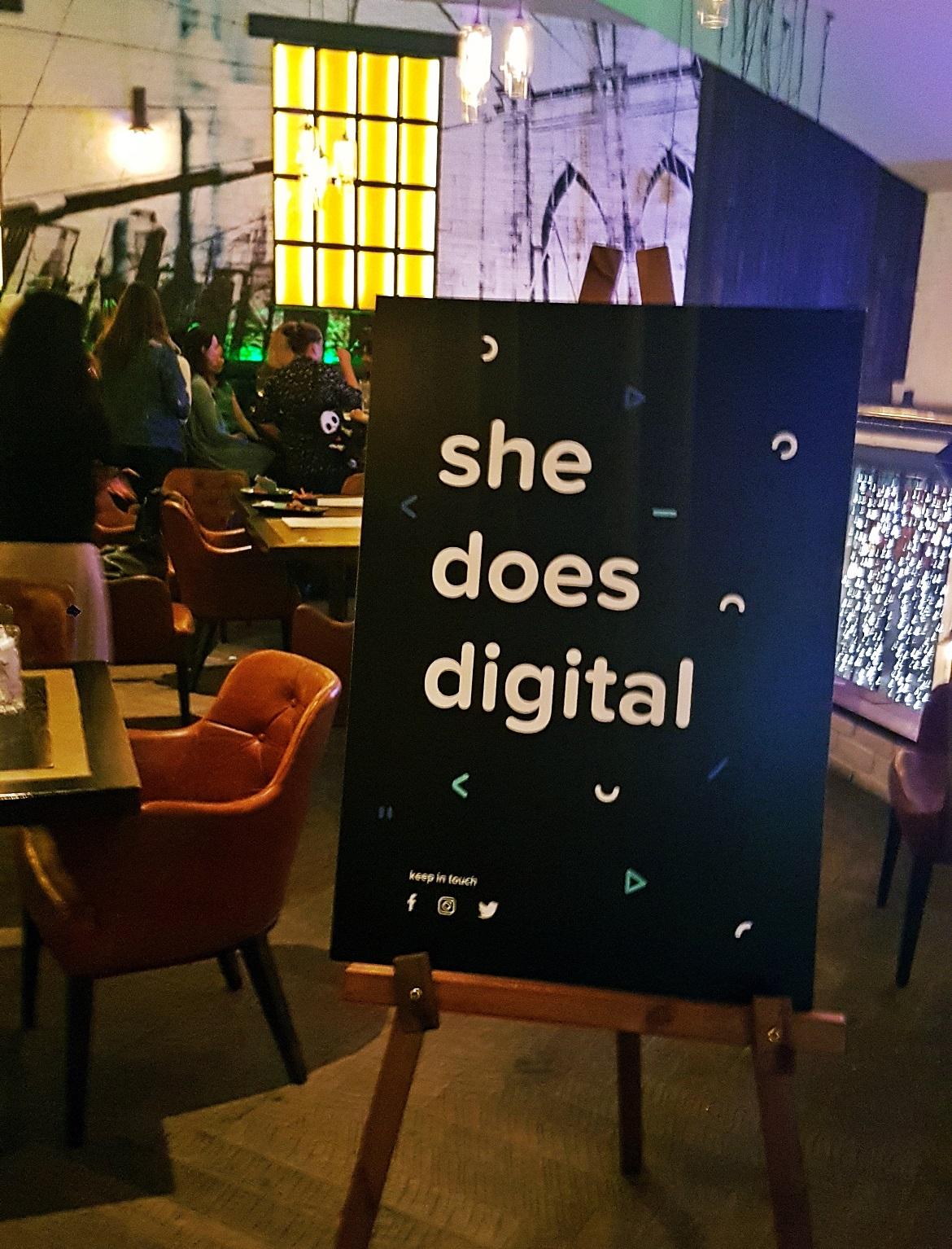 She Does Digital meetup in Leeds - September Monthly Recap by BeckyBecky Blogs
