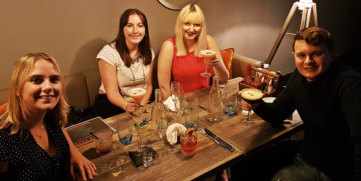 Dinner at Soap Factory in Leeds - September Monthly Recap by BeckyBecky Blogs