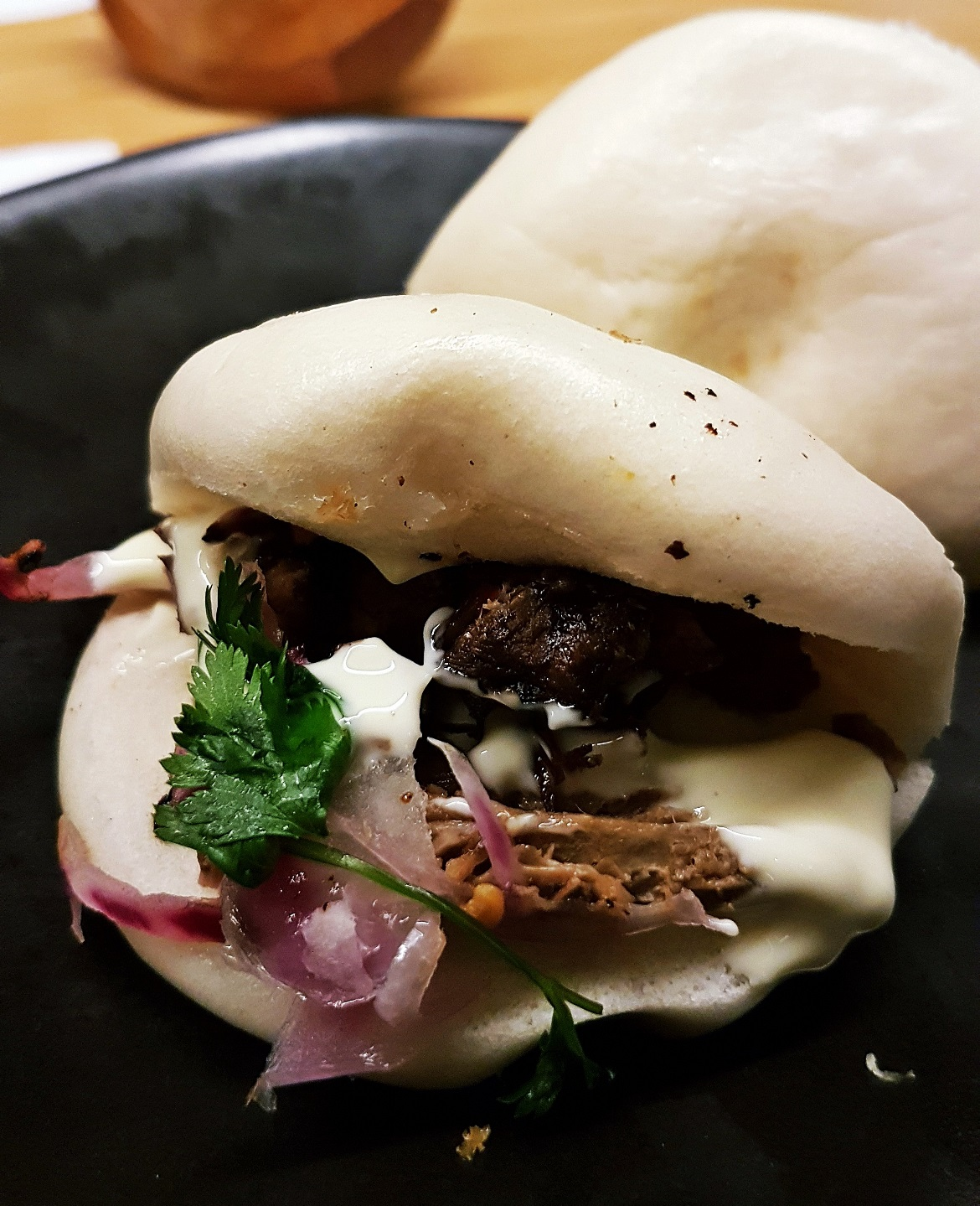 Steamed buns at Wagamama Trinity Leeds - September Monthly Recap by BeckyBecky Blogs