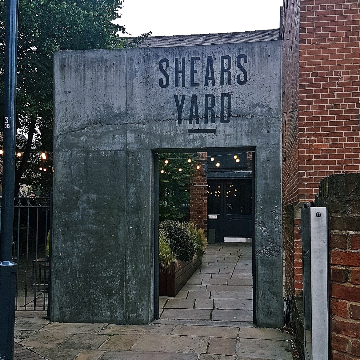 Exterior of Shears Yard - Restaurant Review of Shears Yard, Leeds Restaurant Week menu by BeckyBecky Blogs
