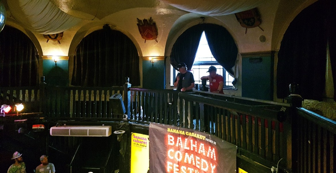 The Bedford, venue for the Spanish Road Megagame