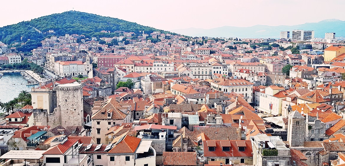 View over Split from Bell Tower - Croatia in Photographs by BeckyBecky Blogs