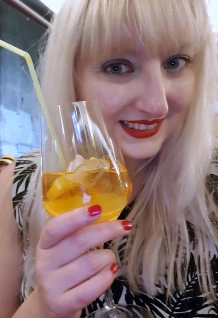 Aperol Spritz at Galija - Eating Split, Croatia Travel blog by BeckyBecky Blogs
