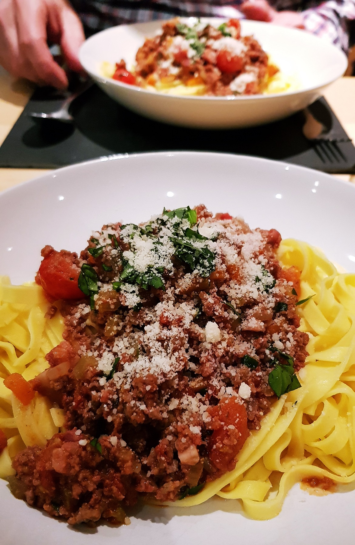 Tagliatelle al ragu, recipe by BeckyBecky Blogs