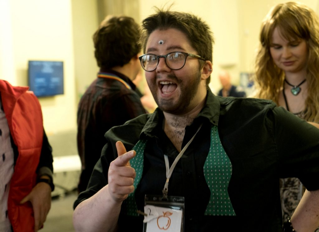 A wacky wacky teacher - Trope High Megagame in Photos by BeckyBecky Blogs