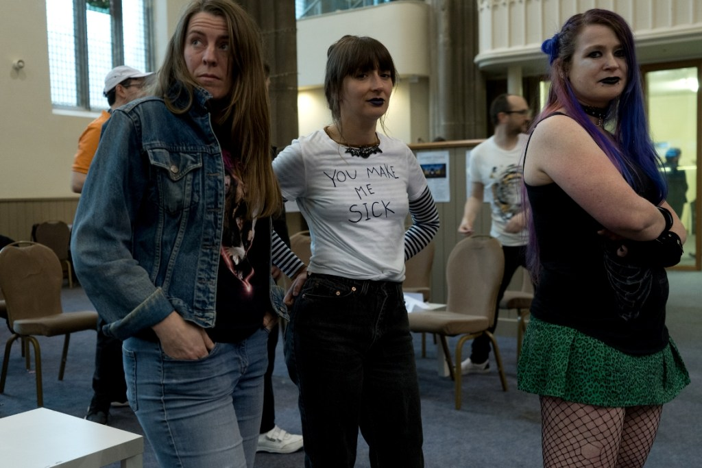 Loners together alone - Trope High Megagame in Photos by BeckyBecky Blogs