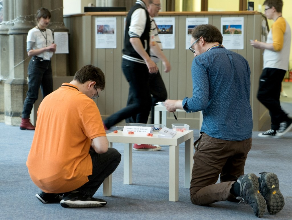 Lesson time - Trope High Megagame in Photos by BeckyBecky Blogs
