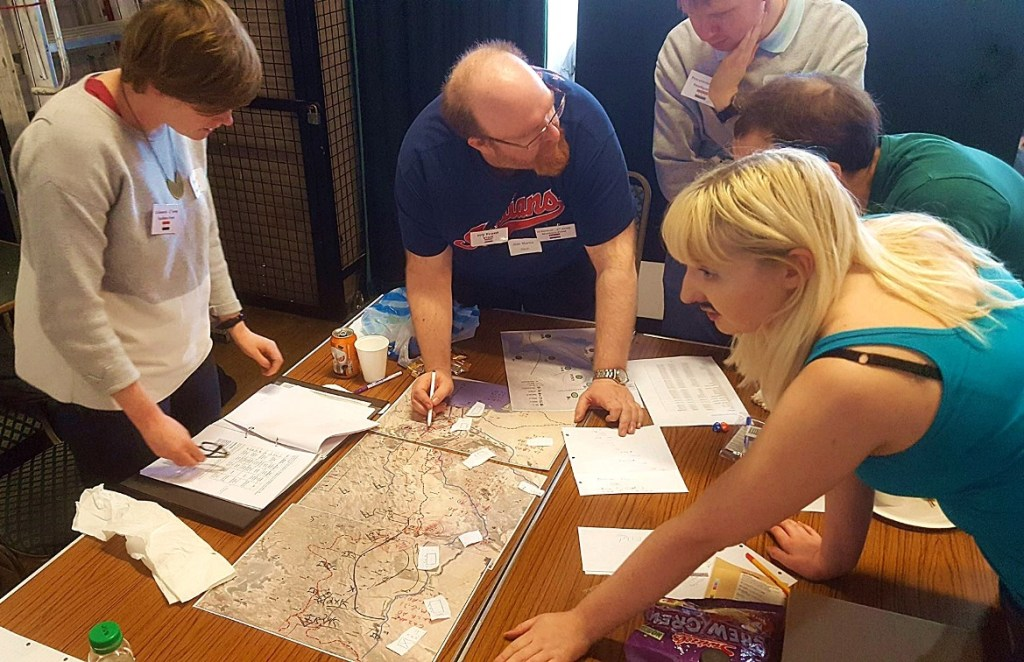 Undeniable Victory megagame - Why I Megagame by BeckyBecky Blogs