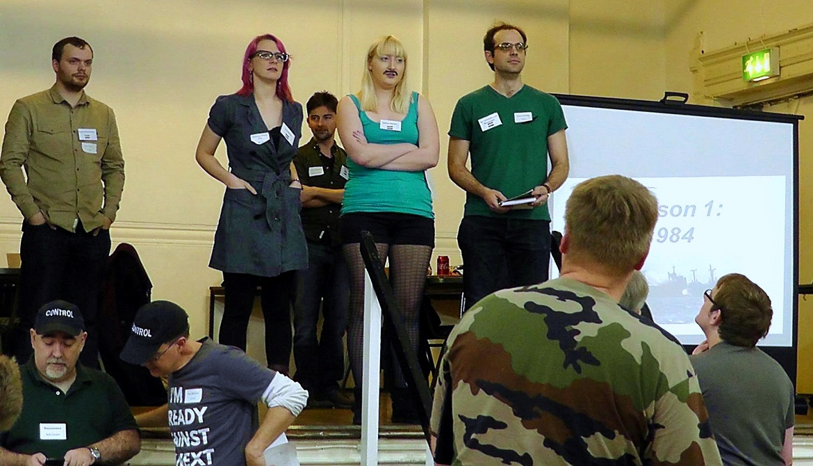 Epic Mistake with the Grand Offensive - Undeniable Victory Megagame After Action Report by BeckyBecky Blogs