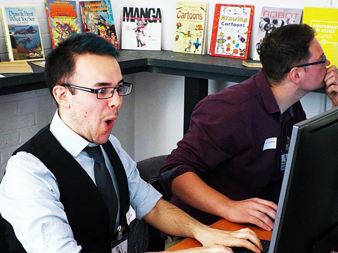 Press team at Urban Nightmare - Press at Megagames by BeckyBecky Blogs|