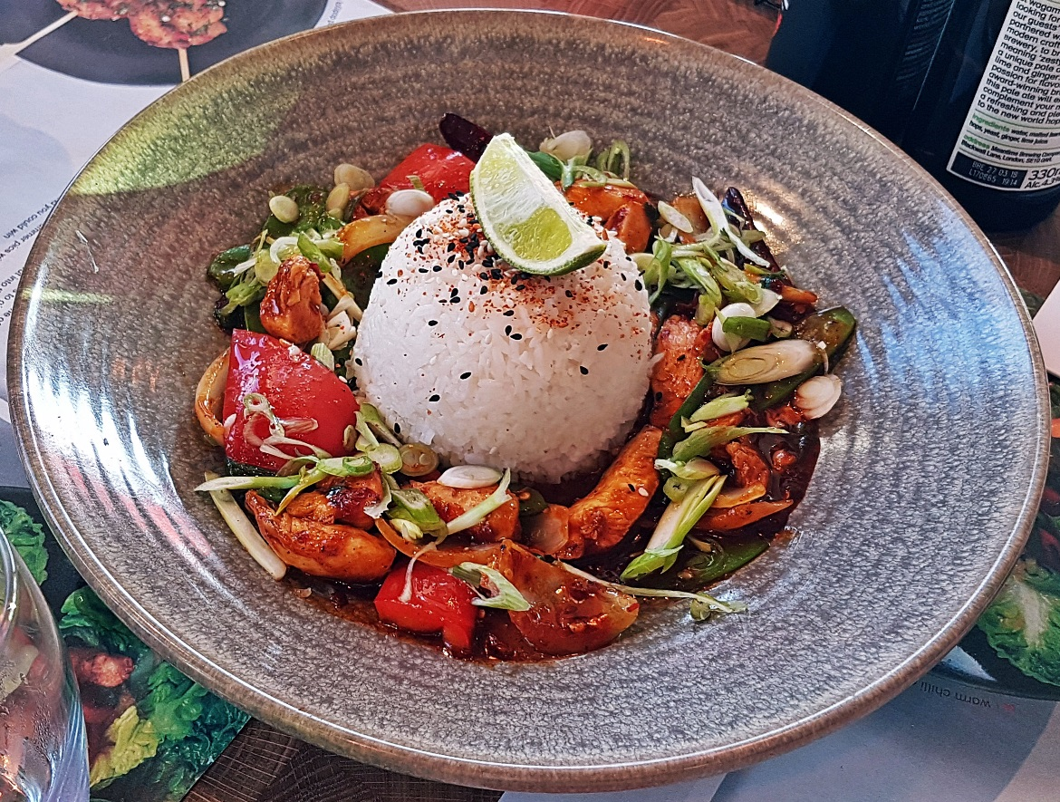 Firecracker Curry - Wagamama Menu Pairing, Review by BeckyBecky Blogs