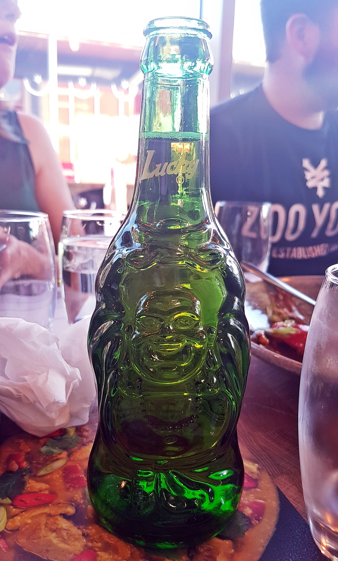 Lucky Buddha beer - Wagamama Menu Pairing, Review by BeckyBecky Blogs