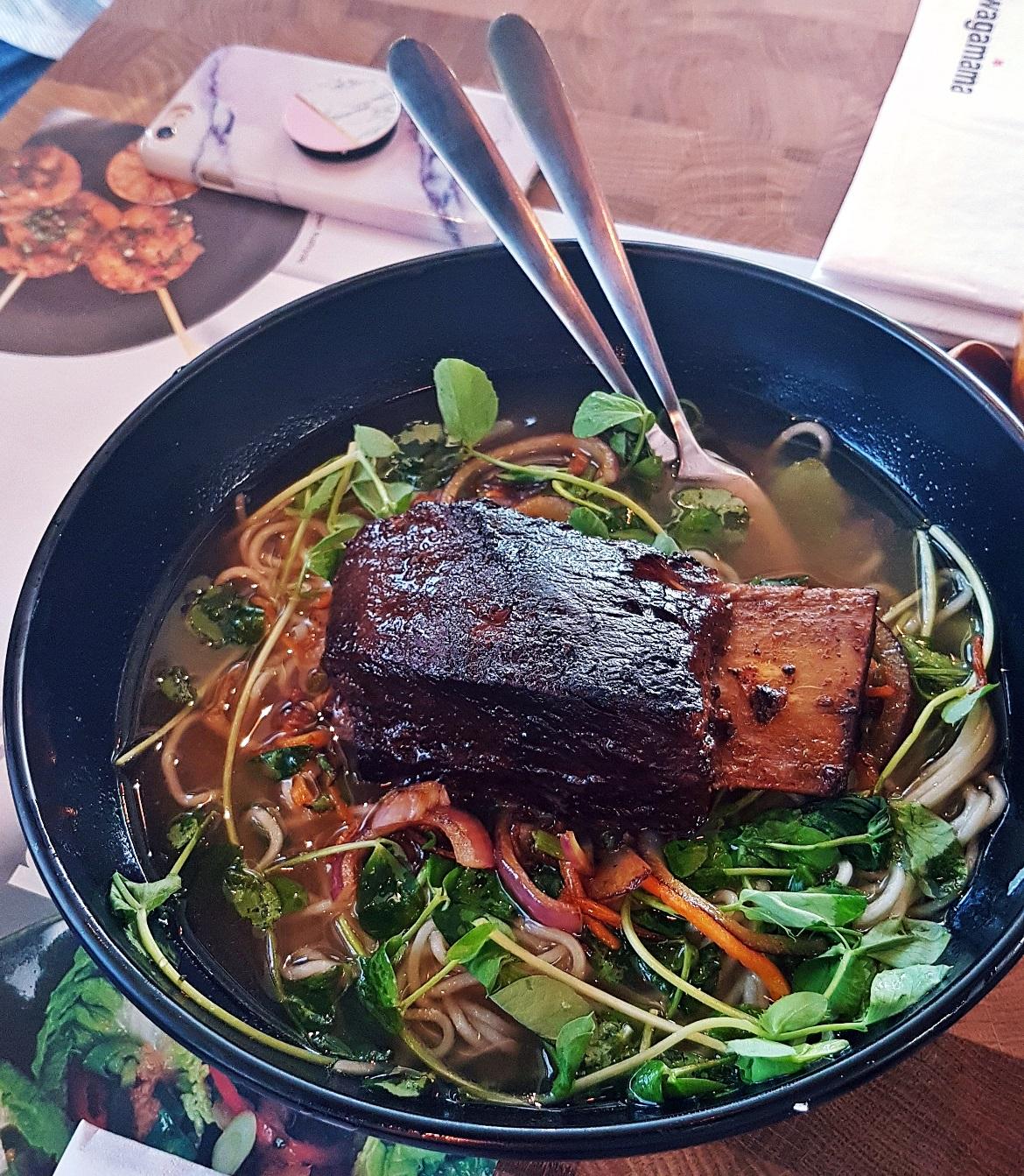 Short rib ramen - Wagamama Menu Pairing, Review by BeckyBecky Blogs