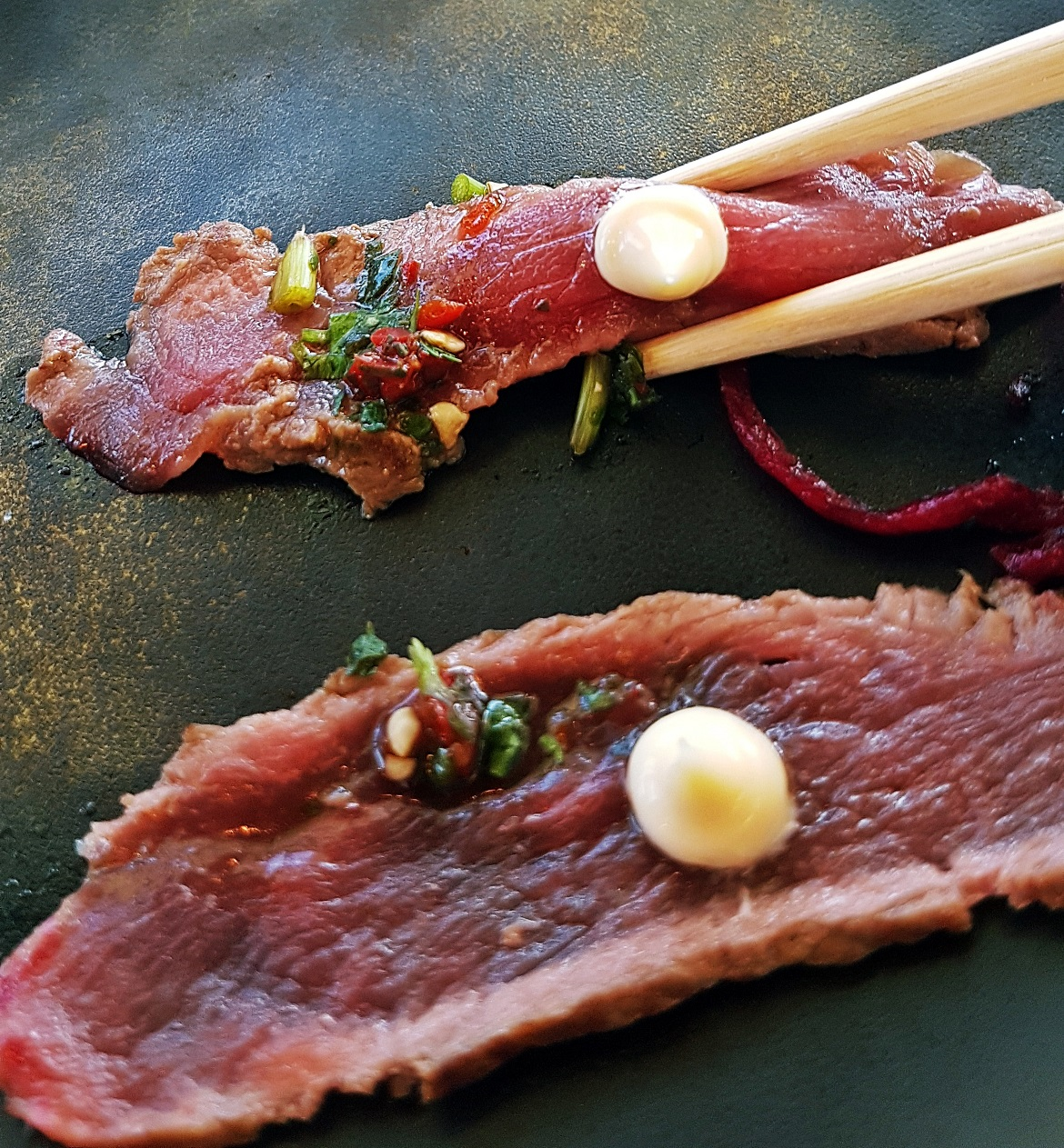 Beef tataki - Wagamama Menu Pairing, Review by BeckyBecky Blogs