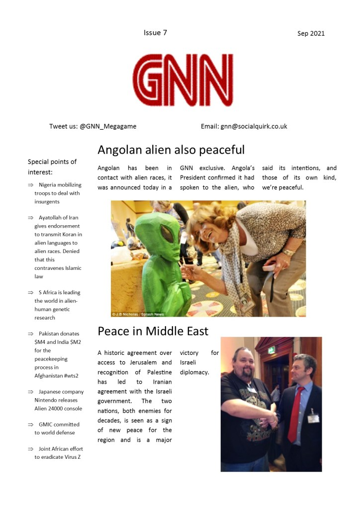 Watch The Skies GNN issue 7