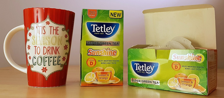 Sunshine Tea by Tetley - Surviving Winter by BeckyBecky Blogs