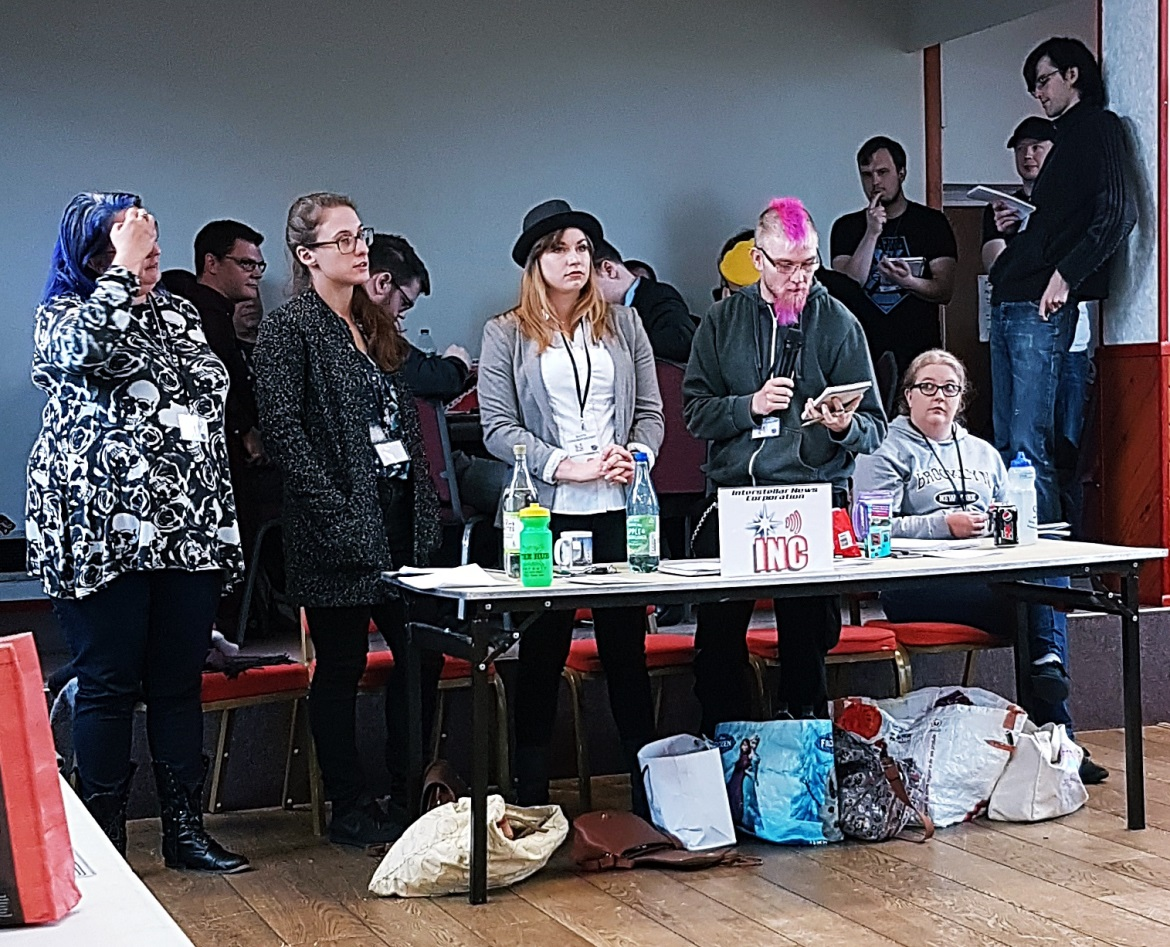 The Press team - A World Divided megagame after action report by BeckyBecky Blogs