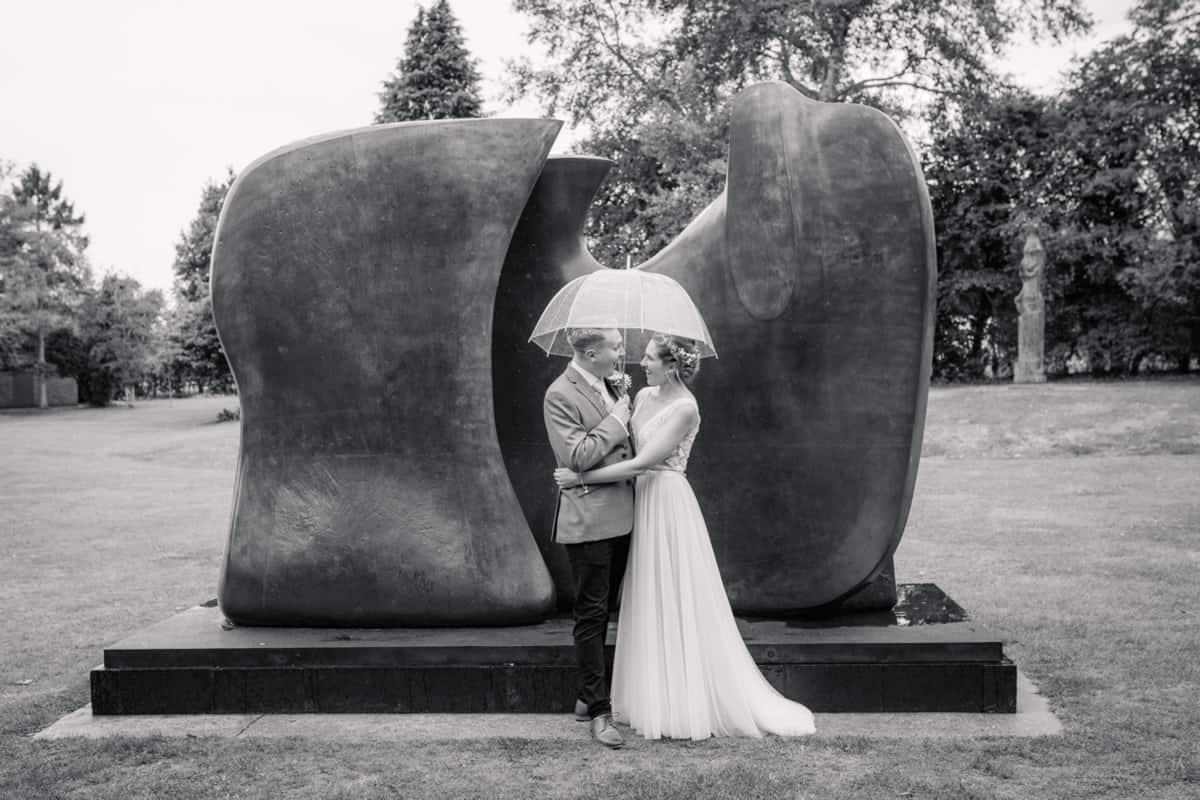The Henry Moore Foundation Wedding Photographer