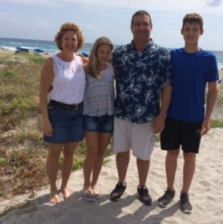 family picture in FL