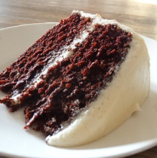 Chocolate Cake with Whipped Buttercream Frosting