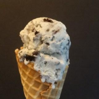 Homemade Cookies and Cream Ice Cream