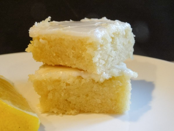 Lemon Brownie Bars