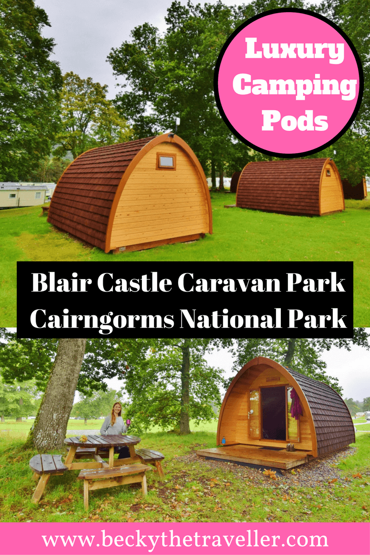 Blair Castle Camping Pod - Cairngorms National Park. Blair Castle Caravan Park is a large camping and caravan site in the south of the Cairngorms National Park. Suitable for families, groups and solo travellers. plenty of hiking trails around the area | Things to do in Blair Atholl | Blair Atholl Castle and Gardens | Things to do in Scotland | Camping | Campsite | Explore the outdoors | Blair Atholl Caravan Park | Blair Atholl