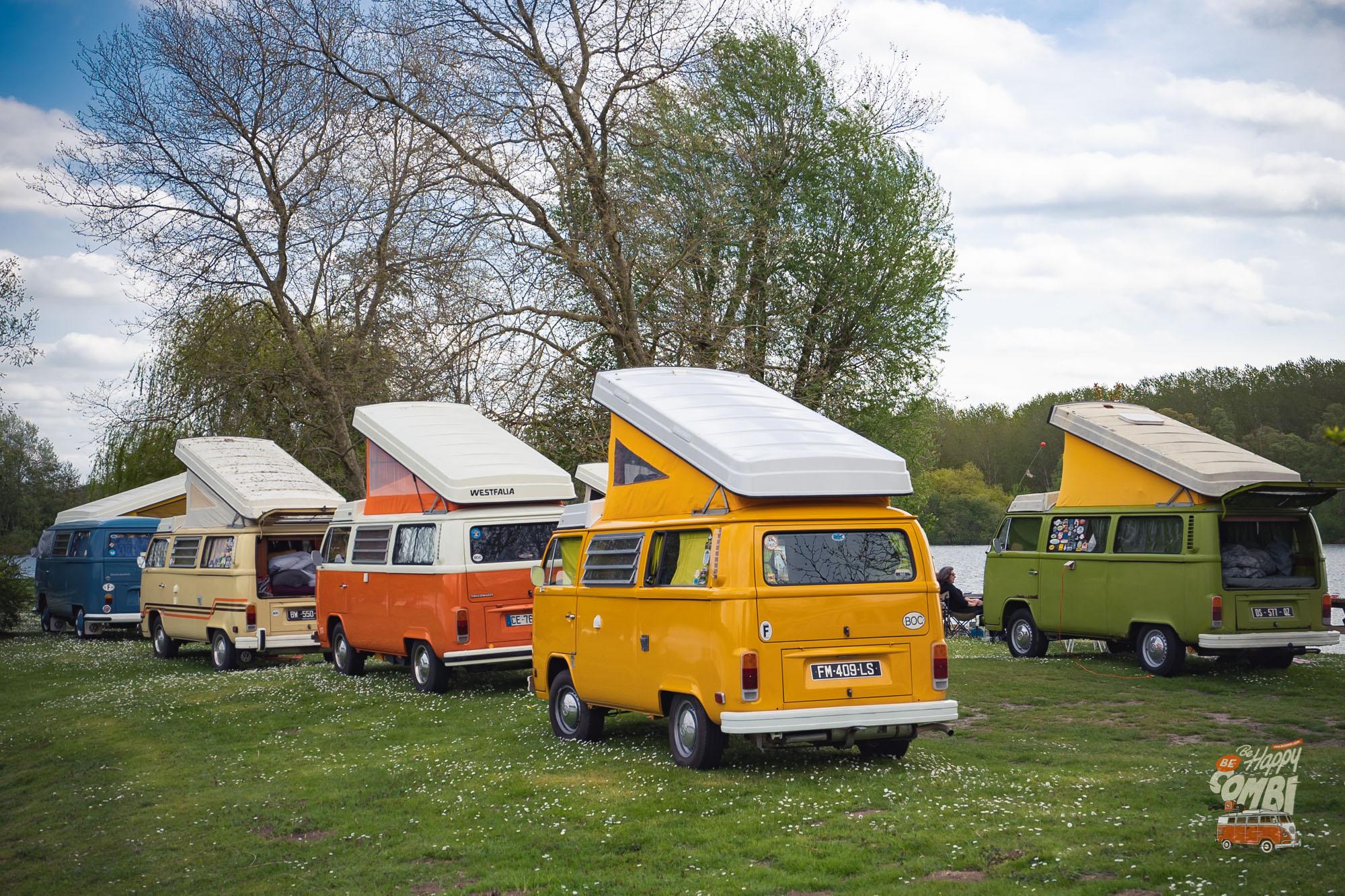 Les retrouvailles de Band of Campers (BOC) - BeCombi