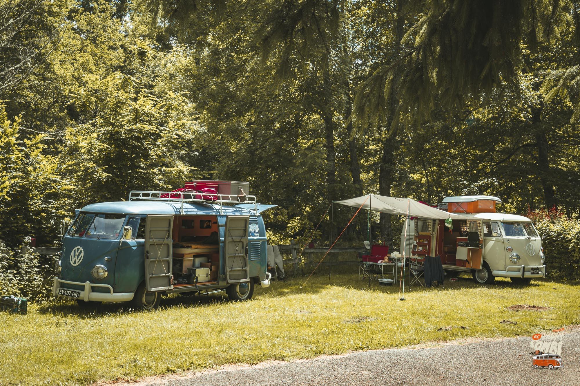 Camping Les Tarteaux (63) en bord de Sioule - BeCombi