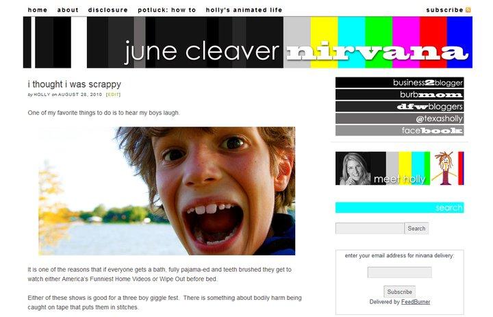June Cleaver Nirvana
