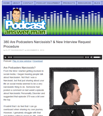 Are Podcasters Narcissists?