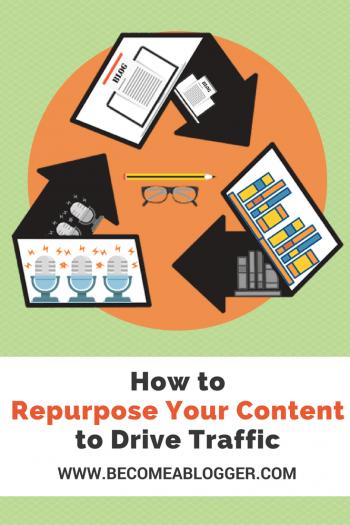 Repurposing Content to Increase Traffic