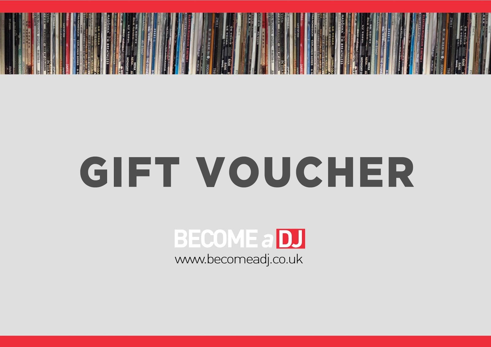 DJ Gift voucher