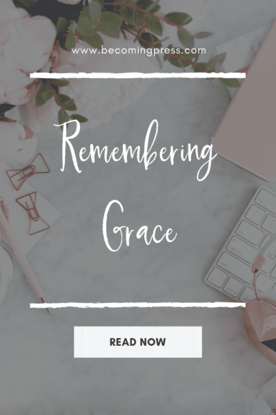 Remembering Grace Devotional